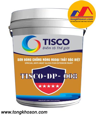 Sơn bóng chống nóng ngoại thất đặc biệt Tisco –DP008