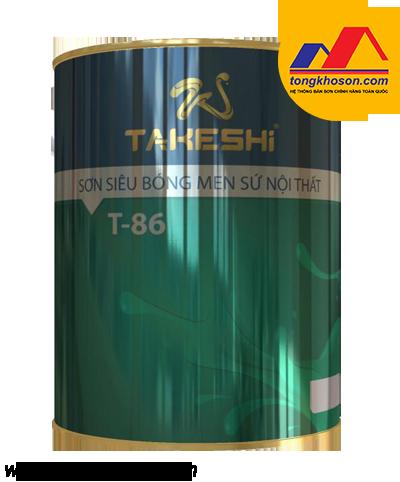 Sơn bóng men sứ cao cấp Takeshi T-86