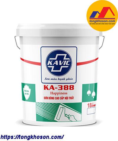Sơn Kavic bóng nội thất KA-388