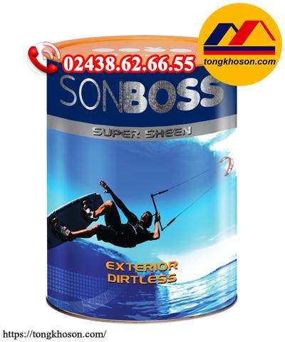 Sơn Boss Super Sheen ngoại thất bóng cao cấp