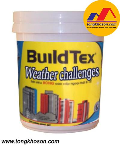Sơn BuildTex ngoại thất siêu bóng