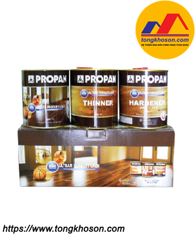 Sơn chống ẩm Propan Ultran Parquet Lack dùng cho gỗ