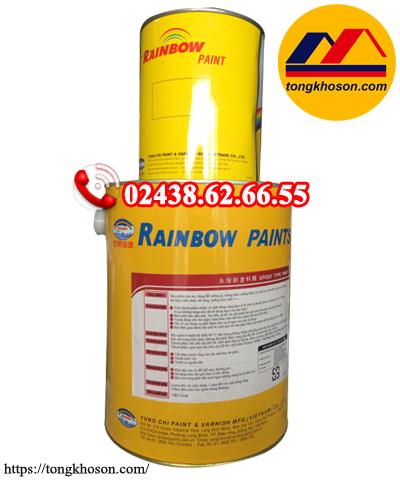 Sơn chống rỉ Epoxy Rainbow 2 thành phần