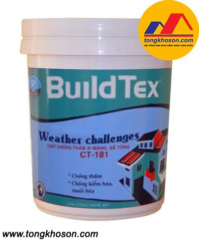 Sơn chống thấm BuildTex pha xi măng