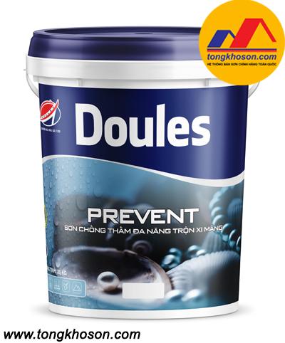 Sơn chống thấm trộn xi măng Doules - Prevent