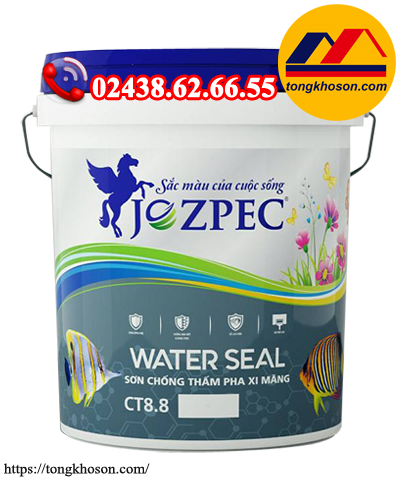 Sơn chống thấm Jozpec Water Seal pha xi măng