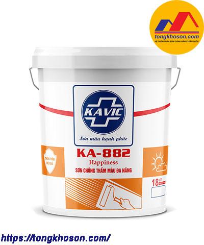 Sơn Kavic chống thấm màu đa năng KA-882