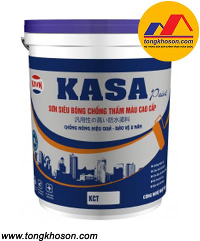 Sơn chống thấm màu Kasa siêu bóng cao cấp