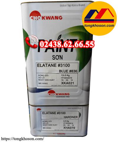 Sơn chống thấm Polyurethane(PU) Chokwang 3100