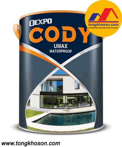 Sơn Oexpo Cody UMAX WATERPROOF chống thấm tường