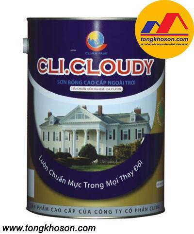 Sơn Clima bóng ngoài nhà Cli.Cloudy