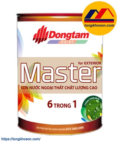 Sơn Đồng Tâm Master 6 in 1 ngoại thất bóng