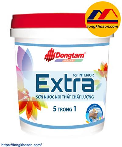 Sơn Đồng Tâm Extra 5 in 1 nội thất bóng mờ
