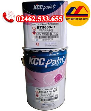 Sơn epoxy KCC ET5660 hệ lăn