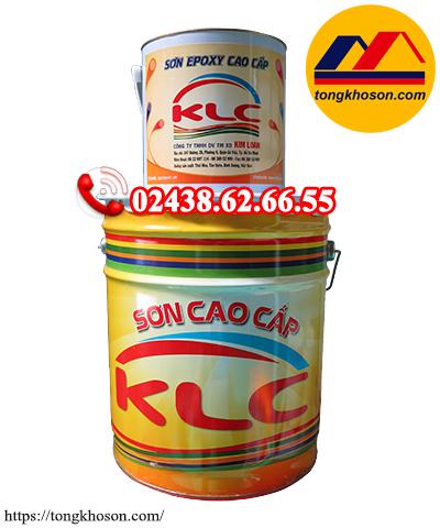 Sơn lót epoxy KLC dầu kẽm