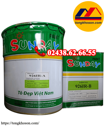 Sơn epoxy Sunday Nanpao 926