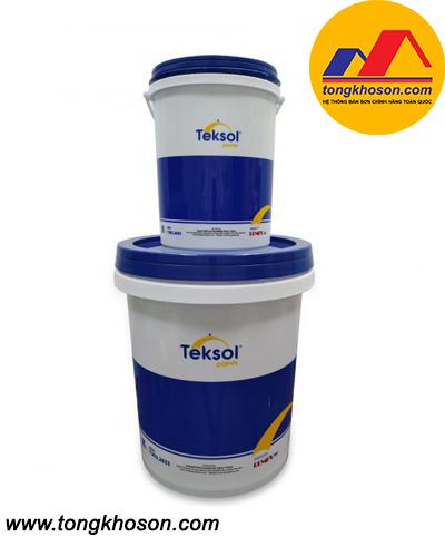 Sơn Epoxy Teksol Ecomax 8222 phủ bóng không màu