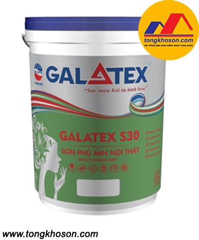 Sơn Galatex S300 ngoại thất bóng mờ