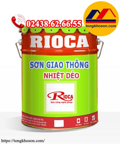 Sơn giao thông nhiệt dẻo Rioca