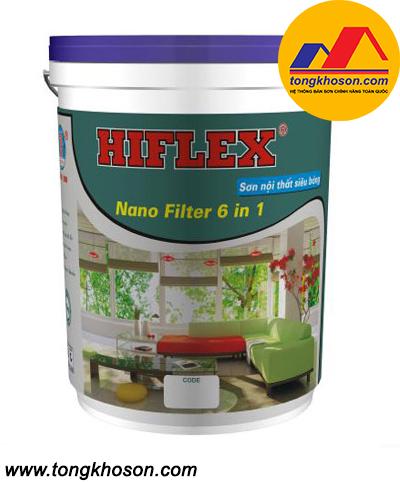 Sơn Hiflex 6 in 1 nội thất siêu bóng