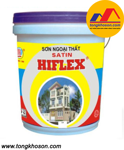 Sơn Hiflex ngoại thất bóng mờ SH302