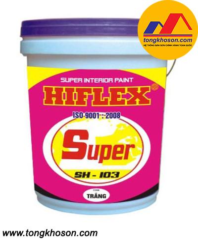 Sơn Hiflex nội thất bóng mờ SH103