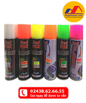Sơn Xịt Huỳnh Quang Redfox(Fluorescent)