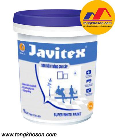 Sơn Javitex nội thất siêu trắng