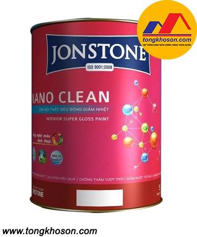 Sơn Jonstone siêu bóng nội thất Nano Clean