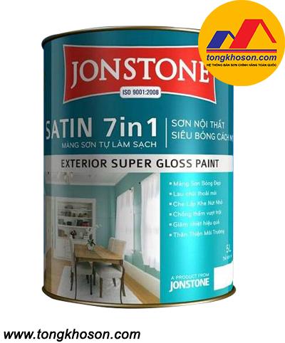 Sơn Jonstone siêu bóng nội thất Satin 7in1