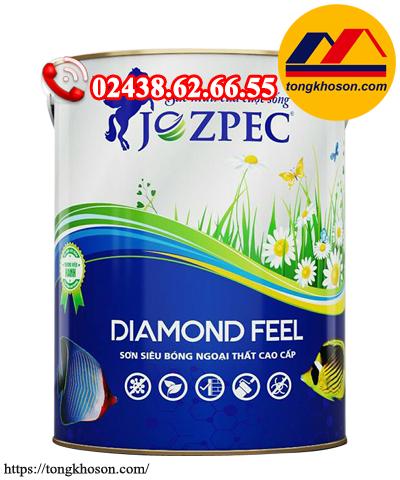 Sơn Jozpec Diamond Feel ngoại thất siêu bóng