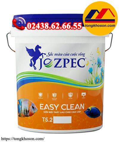 Sơn Jozpec Easy Clean nội thất lau chùi hiệu quả