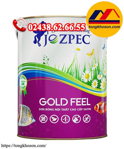 Sơn Jozpec Gold Feel nội thất siêu bóng