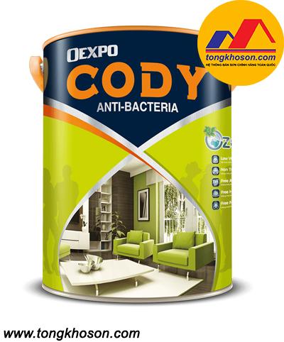 Sơn Oexpo Cody kháng khuẩn không mùi nội thất