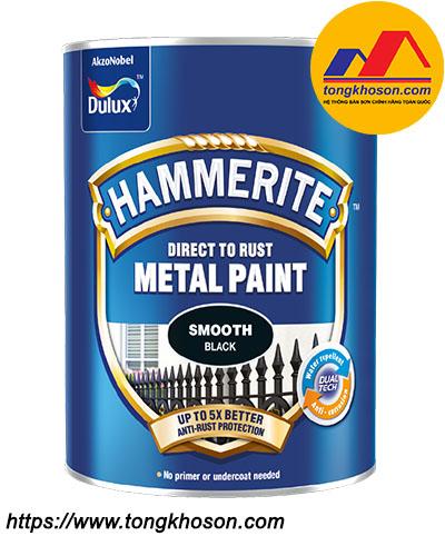 Sơn kim loại Dulux Hammerite bề mặt bóng
