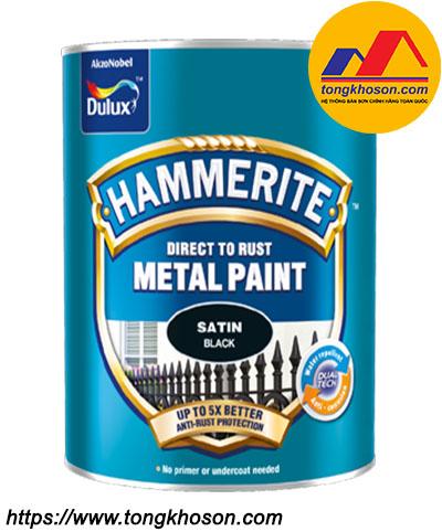 Sơn kim loại Dulux Hammerite bề mặt mờ