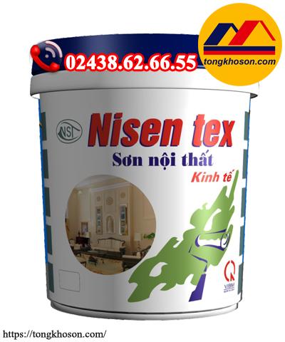 Sơn  kinh tế Nisen tex nội thất