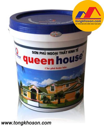 Sơn kinh tế Queen House ngoại thất