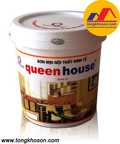 Sơn kinh tế Queen House nội thất