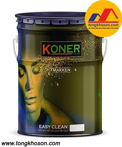 Sơn nội thất lau chùi hiệu quả Koner