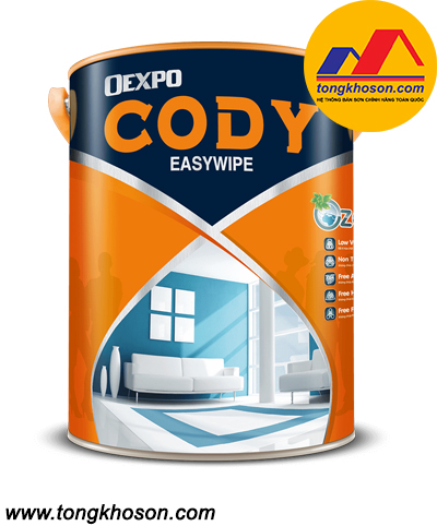 Sơn Oexpo Cody lau chùi nội thất