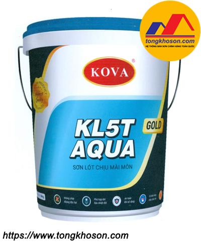 Sơn lót Epoxy chịu mài mòn Kova KL-5T Aqua Gold
