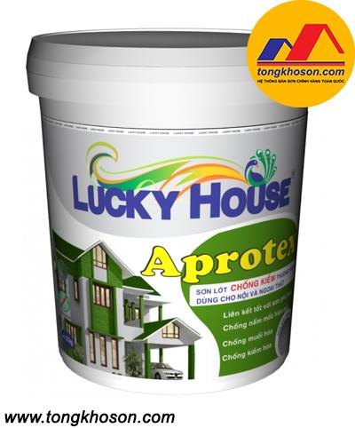 Sơn lót chống kiềm Lucky House Aprotex nội và ngoại thất