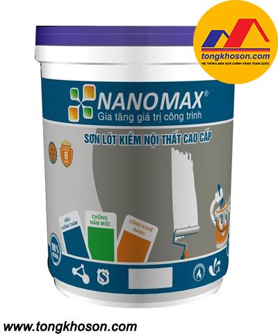 Sơn lót chống kiềm Nanomax nội thất