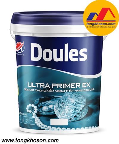 Sơn lót chống kiềm ngoại thất Nano Doules Ultra Primer EX