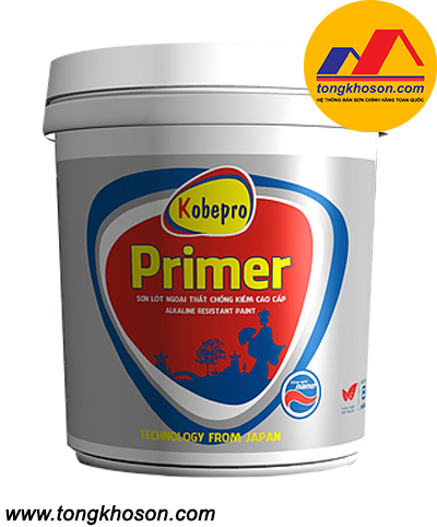 Sơn lót chống kiềm ngoại thất Kobepro Primer