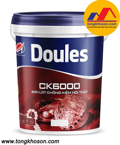 Sơn lót chống kiềm Doules CK6000 nội thất
