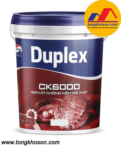Sơn lót kháng kiềm nội thất Duplex CK6000