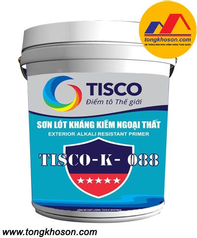 Sơn lót chống kiềm ngoài trời Tisco - K088