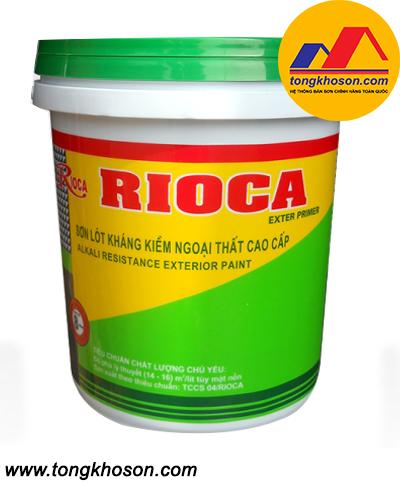 Sơn lót kháng kiềm ngoại thất Rioca